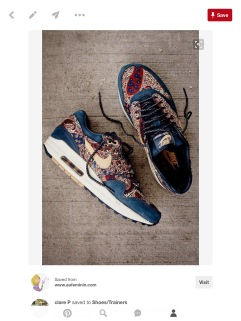 Nike Air Max with Liberty print