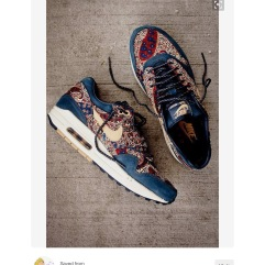 Nike Air Max with Liberty print